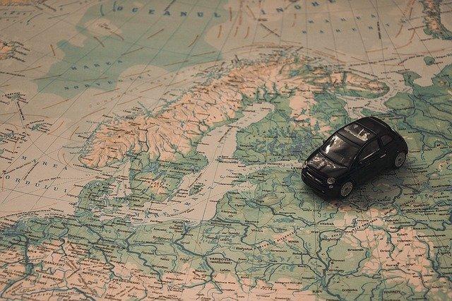 mapa coche